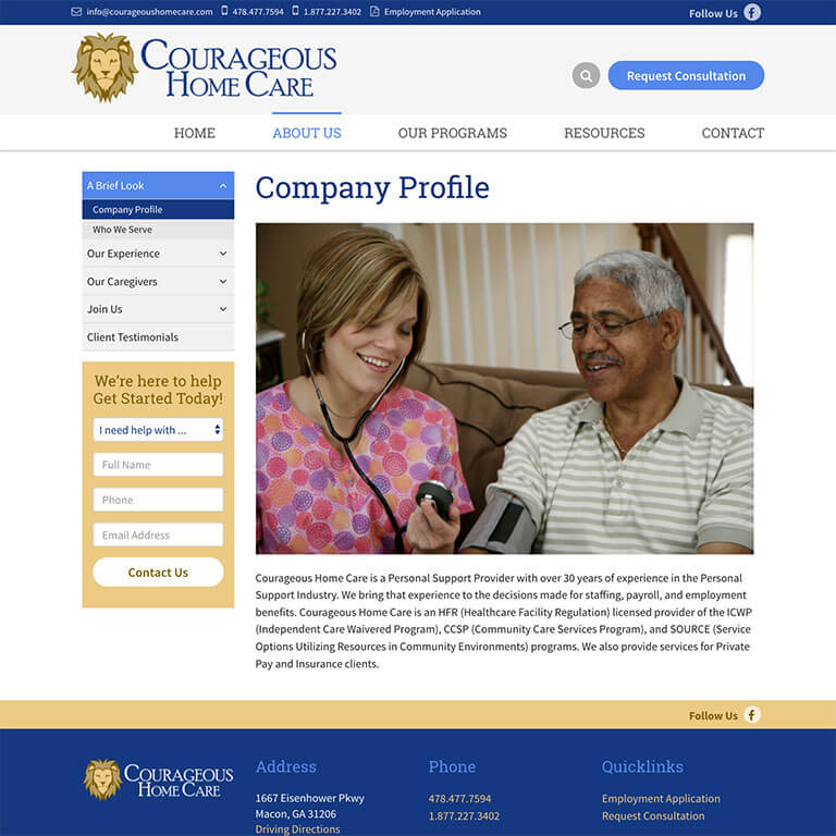 Courageous Home Care - Image 2